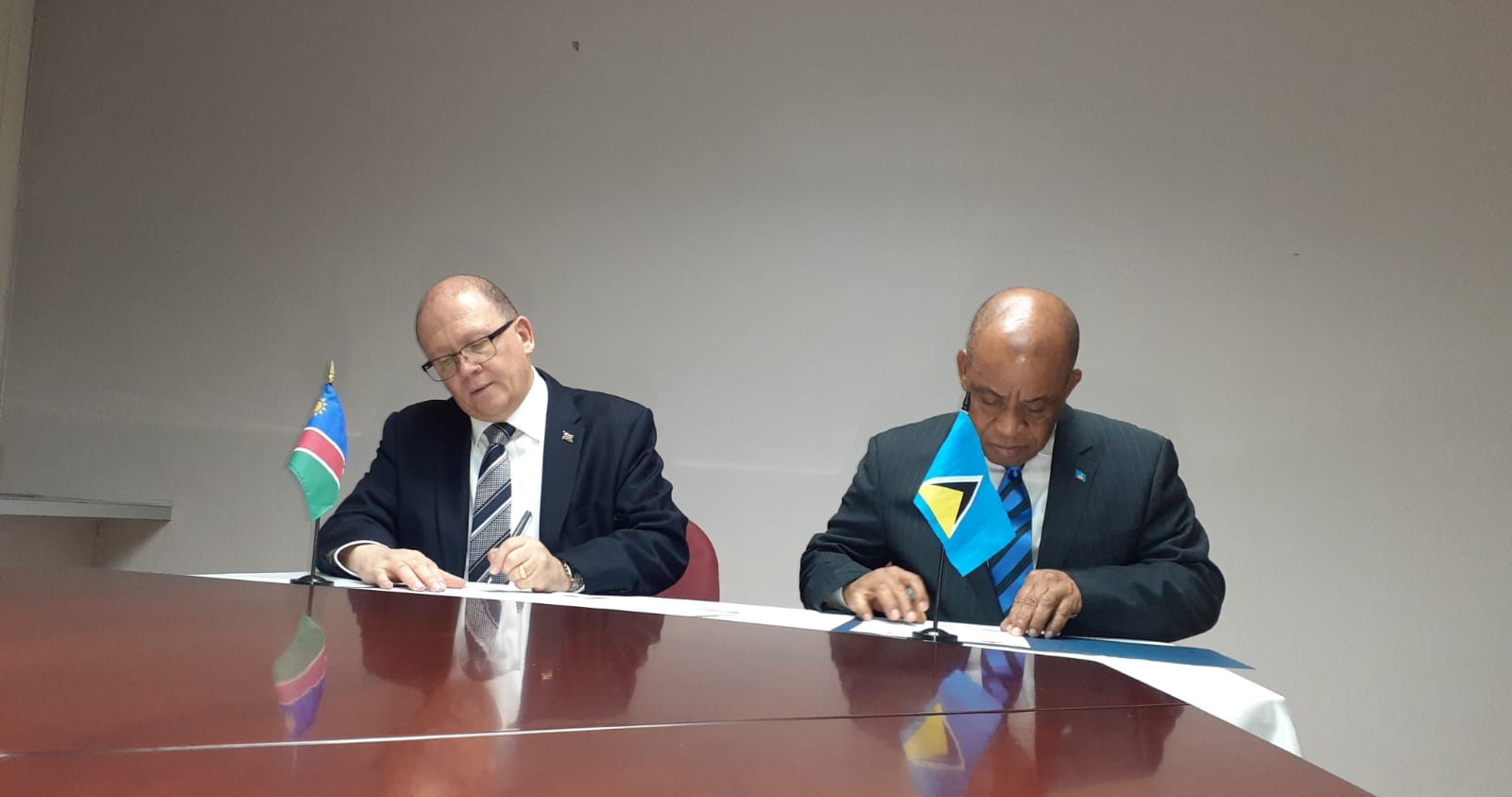 Namibia Signing